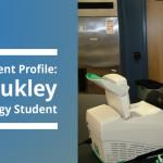 Student Profile: Zach Brukley, Biotechnology Student
