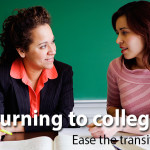 Returning to college? Ease the transition